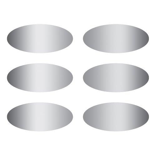 Eureka Ovals Scratch-Off Stickers