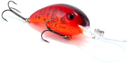 #1 Strike King Pro-Model Crankbait Series 3XD(Chili Craw, .4375 -Ounce)  Review