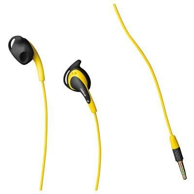 Jabra Active Corded Headset - Ear Set - Yellow