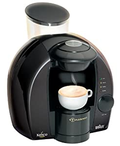 Braun Tassimo Freshly Brewed Coffee, Cappuccino and Hot Drinks Machine (black): Amazon.co.uk ...