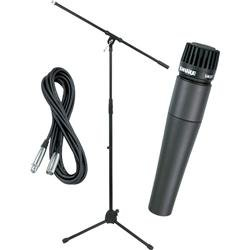Shure SM57 Mic with Cable & Stand (Standard)
