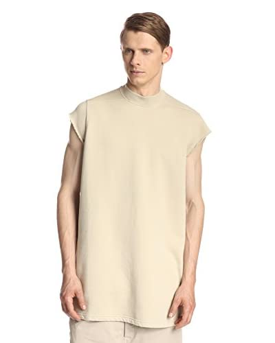 Rick Owens DRKSHDW Men's Fleece Top Sleeveless Jumbo T-Shirt