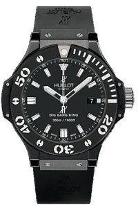 Hublot Big Bang Black Rubber Strap Mens Watch 312.CM.1120.RX