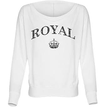 Royal Crown: Bella Flowy Long Sleeve Dolman T-Shirt