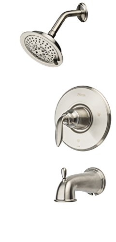 Pfister Avalon 1-Handle Tub & Shower Trim, Brushed Nickel (Brushed Nickel Tub Fixtures compare prices)
