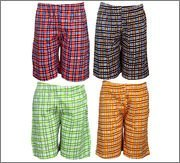 Spictex Boys' Cotton Shorts (Pack Of 4) (SPIC-CT142-PC4-04_Multicolor_4 Years - 5 Years)