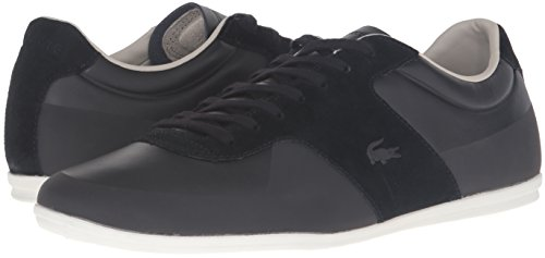 Lacoste Men's Turnier 316 1 Cam Fashion Sneaker, Black, 11 M US
