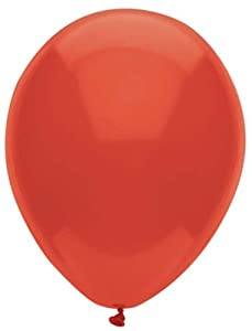 12 Inch Real Red Latex Balloons 72CT