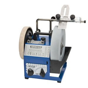 Tormek Sharpening System Ultimate Bundle TBU704 T-7. A Complete Water Cooled Sharpener With Woodturning Jigs, Hand Tool Jigs, and the