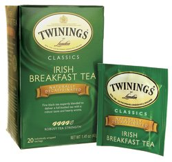 Twinings Of London Irish Breakfast Decaf Tea Case Pack 120