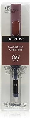 Revlon Colorstay Overtime Lipcolor Faithful Fawn 0.07 Ounce
