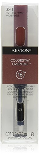Revlon Colorstay Overtime Lipcolor, Faithful Fawn, 0.07 Ounce (Colorstay Lip Color compare prices)
