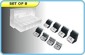Laube Dog Grooming Big K 8 Pc Clip Comb Set