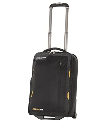Berghaus Alpha 40 Litre Wheeled Travel Luggage by Berghaus