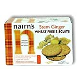 Stem Ginger Wheat Free Biscuit