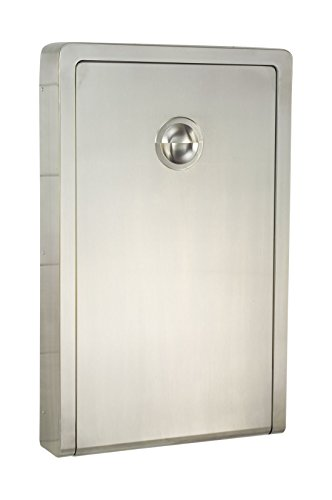 Koala Kare KB111-SSWM Vertical Baby Changing Station, Stainless Steel