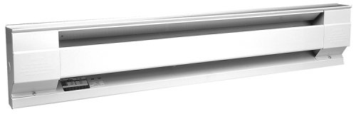 Cadet 8F2000-8W Baseboard Heater, 8 Ft. 2000W 208V Electric - White (Cadet 2000 Watt Baseboard Heater compare prices)