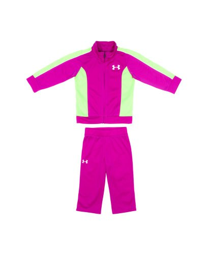 Under Armour Baby-Girls Infant A O Ice Camo Set, Strobe, 12 Months front-526270