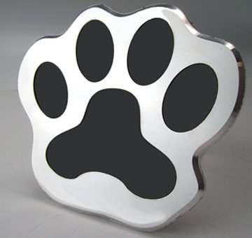 Cheapest Prices! Trailer Hitch Cover Plug DOG PAW Custom CNC Machined Aluminum 6061 Made in the USA
