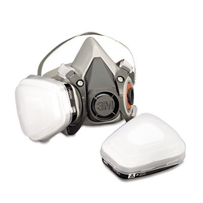3M R6211 Low-Maintenance Half-Mask Organic Vapor, P95 Respirator Assembly, Medium