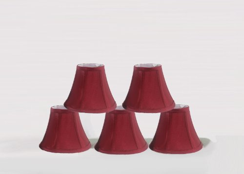Chandelier Lamp Shades, Set of 5, Soft Bell 3