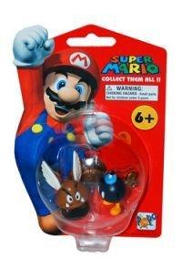 Super Mario Brothers: Nintendo Wave 1 / Para Goomba & Bob-omb Action Figure