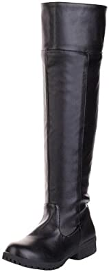 Lily Bell Attack on Titan Cosplay Knee-high Boot (8.5, Black)