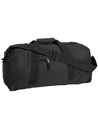 Liberty Bags 8806 Large Square Duffel - One Size - Black