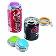 Jokari US Inc 015101CS Soft Drink Fizz-keeper Can Pump And Pour Pack of 6