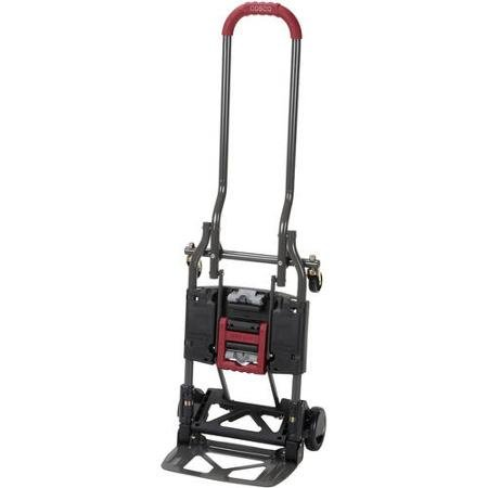 Cosco Shifter Multi-Position Heavy Duty Folding Hand Truck and Dolly (Red)