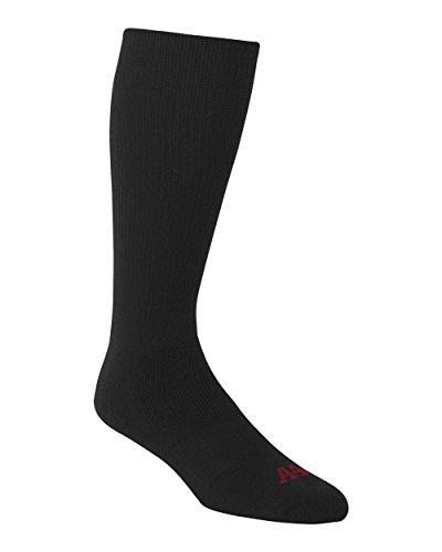 black-large-a4-performance-tube-sports-socks