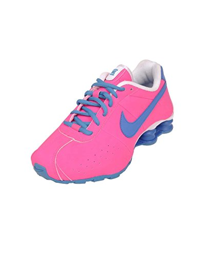 Nike Youth's Shox CL GS Pink/Blue Running Shoes 309711 614 size 5.5y (Classic Nike Shox compare prices)