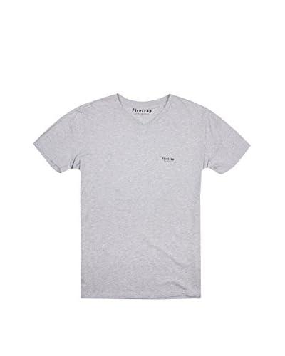 Firetrap T-Shirt Manica Corta Casco [Grigio]