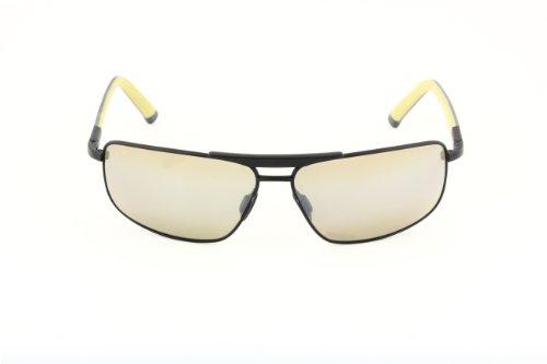 Maui Jim Maui Jim Rectangular Sunglasses (Matte Black) (MJ271_2M) (Multicolor)