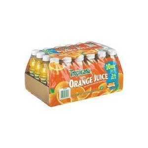 Tropicana 100% Orange Juice - 10 Oz. (Pack of