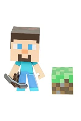 Jinx Minecraft Steve Vinyl Figure from Hot Topic