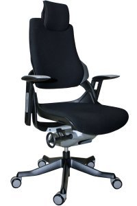 office chair with white frame by raynor from office chairs outlet