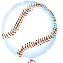 "Anagram International Baseball (Set of 2), 18"" - 1"