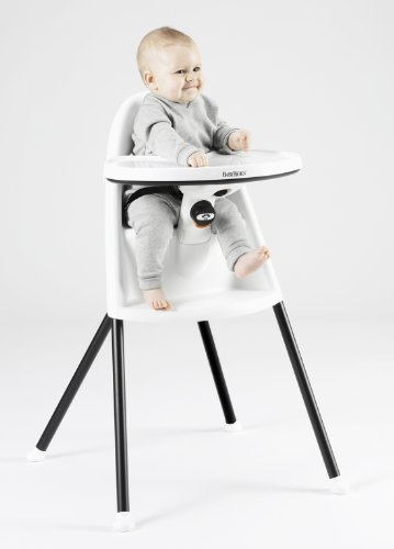 BABYBJORN High Chair White Furniture Baby Toddler