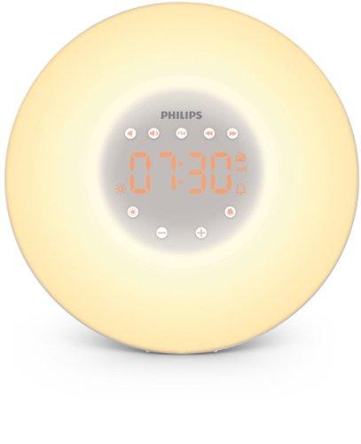Philips Wake-up Light, Aufwachen mit Licht, 2 nat�rlichen Weckt�ne