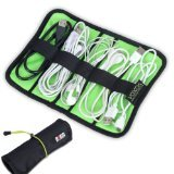BUBM Universal Cable/pens Organizer Stable/ Baby Healthcare & Grooming Kit (Small, Black)