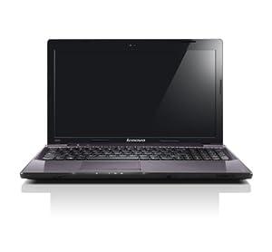 Lenovo IdeaPad Z570 15.6 inch laptop (Intel Core i7 2670QM 2.2GHz, 6Gb RAM, 750Gb HDD, DVDRW, LAN, WLAN, BT, Webcam, Windows 7 Home Premium) - Gunmetal