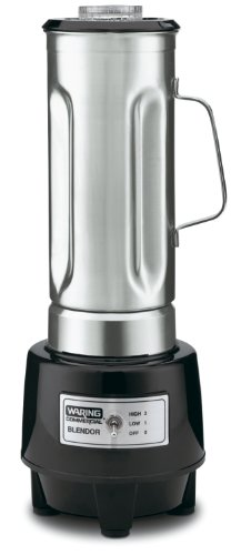 Waring Commercial Hgb150 1/2-Gallon Food Blender With 64-Ounce Stainless Steel Container