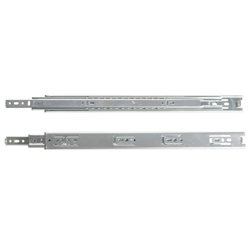 """Kv 4400 Series Full Extension Precision Ball Bearing Low Profile Slides 10"""" 65# Class (One Set Does One Drawer)"""