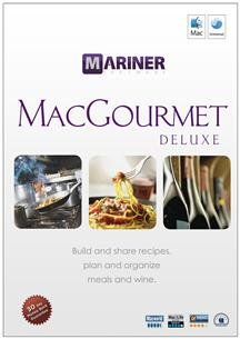 Popular Mariner Software Macgourmet Deluxe 3.0 Calculate Nutrition Create Shopping Lists Sm Box