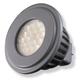 Kolourone Led 4 Watt Gu5.3 Mr16 Lamp Beam Angle: 60°, Color Temperature: 5000K, Finish: White