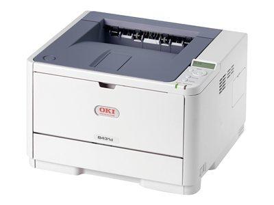 Okidata Oki B431D Led Printer - Monochrome - 1200 X 1200 Dpi Print - Plain Paper Print - Desktop - 40 Ppm Mono Print - 350 Sheets Input - Automatic Duplex Print - Lcd - Usb