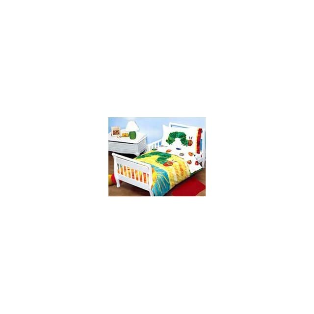 Eric Carle   The Very Hungry Caterpillar (Incorrect Picture)   4pc Bedding Set   Toddler/Crib