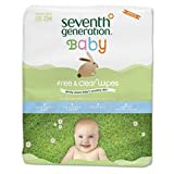 Seventh Generation Free And Clear Baby Wipes Refill (256 Sheets)