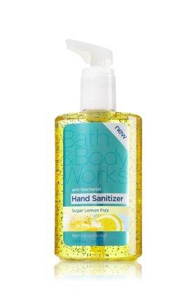 Bath & Bodyworks バス&ボディワークス Sugar Lemon Fizz シュガーレモンフィズ AntiーBacterial アンチバクテリア Sanitizing Hand Gel サニタイジングハンドジェル